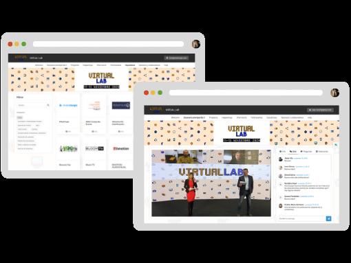 expositores interactivos evento virtual